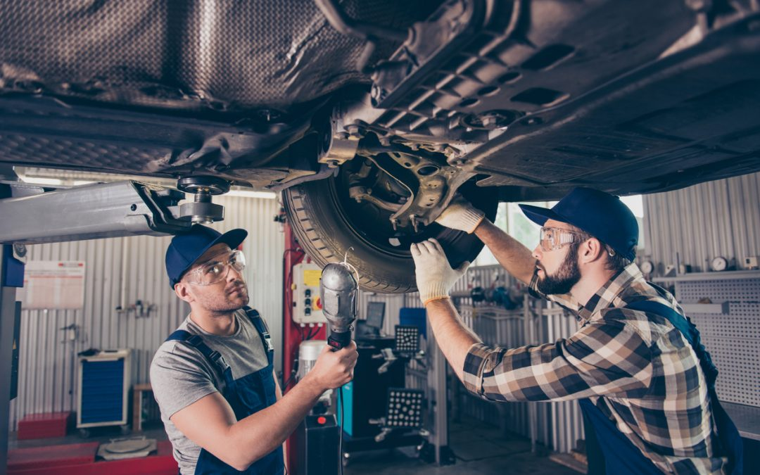 Anders Automotive Provides Common Signs of Suspension Problems